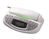 alarm clock radio phone combo photos. Black Bedroom Furniture Sets. Home Design Ideas